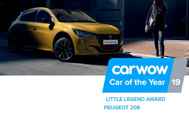All New Peugeot 208 Winning already!