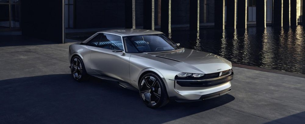 e-LEGEND Concept unveiled by Peugeot