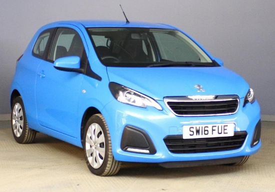 Peugeot 108 ACTIVE **PCP Special from £107 Deposit £107 Per Month**
