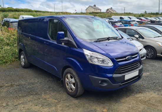 Ford TRANSIT CUSTOM 290 LIMITED **170 HP**