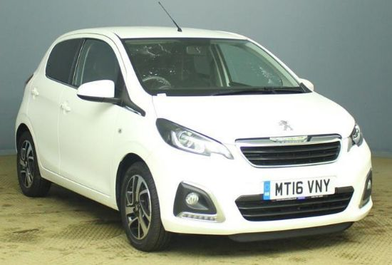 Peugeot 108 ALLURE **PCP Special from £108 Deposit £108 Per Month**