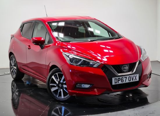 Nissan MICRA N-CONNECTA IG-T **PCP FROM £159 DEPOSIT £159 PER MONTH**