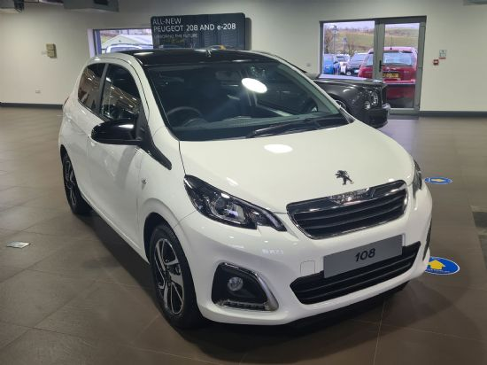 Peugeot 108 P/T ALLURE **PCP FROM £499 DEPOSIT £199 PER MONTH**