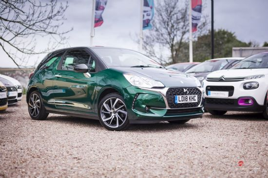 DS DS3 CONNECTED CHIC PURETECH **PCP SPECIAL FROM £177 DEPOSIT £177 PER MONTH**