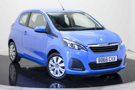 Peugeot 108 ACTIVE **PCP SPECIAL £102 DEPOSIT £102 PER MONTH**