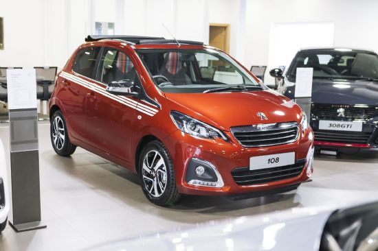Peugeot 108 COLLECTION TOP **PCP Special from £229 deposit and £229 per month**