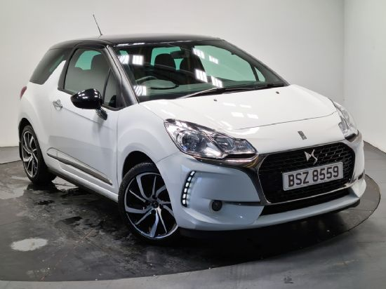 DS DS3 CONNECTED 1.2 CHIC **PCP FROM £139 DEPOSIT £139 PER MONTH**