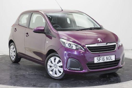 Peugeot 108 ACTIVE **PCP SPECIAL £109 DEPOSIT £109 PER MONTH**