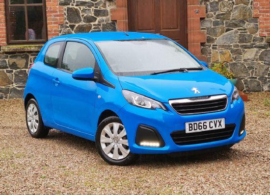 Peugeot 108 ACTIVE **£133 DEPOSIT £133 PER MONTH**