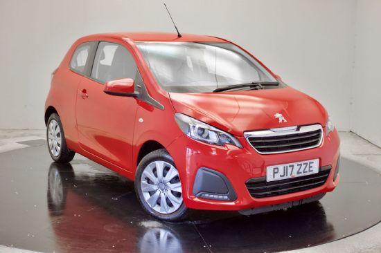 Peugeot 108 ACTIVE **PCP Special from £99 Deposit £99 Per Month**