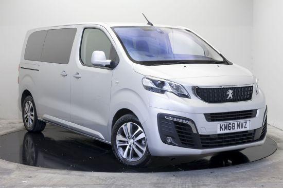 Peugeot TRAVELLER ALLURE BLUEHDI S/S AUTO **PCP Special 10% deposit £359 per month**