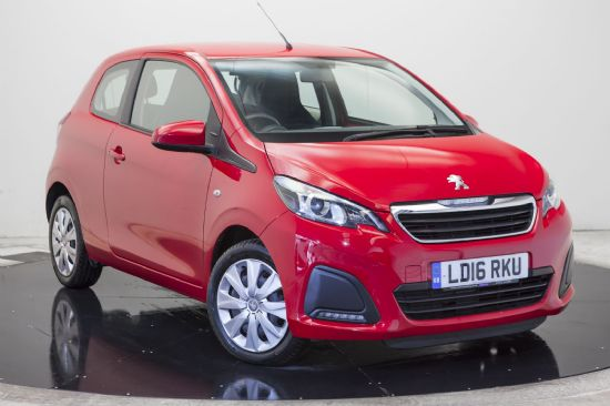Peugeot 108 ACTIVE **PCP Special from £95 Deposit £95 Per Month**