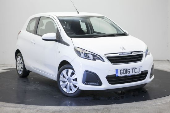 Peugeot 108 ACTIVE **PCP Special from £93 Deposit £93 Per Month**
