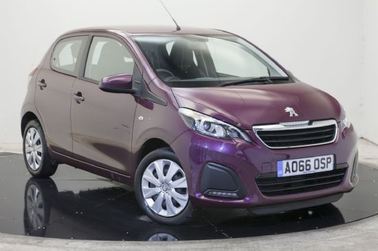 Peugeot 108 ACTIVE **PCP Special from £109 Deposit £109 Per Month**