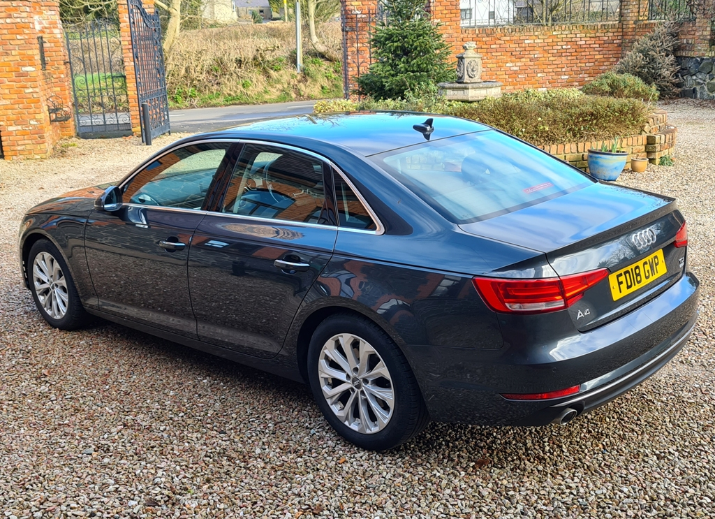 2018 Audi A4 Diesel Manual – Hallidays of Bushmills full