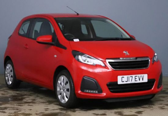 Peugeot 108 ACTIVE **PCP Special from £115 Deposit £115 Per Month**
