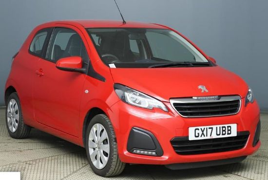 Peugeot 108 ACTIVE **PCP Special from £116 Deposit £116 Per Month**