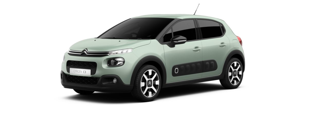 Citroen New C3 Almond Green