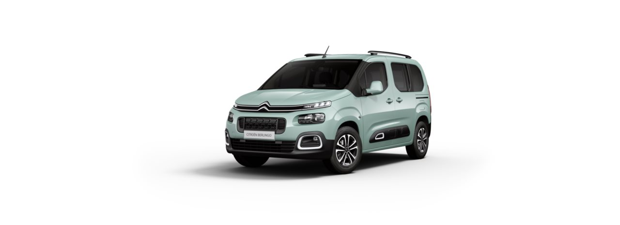 Citroen New Berlingo Aqua Green