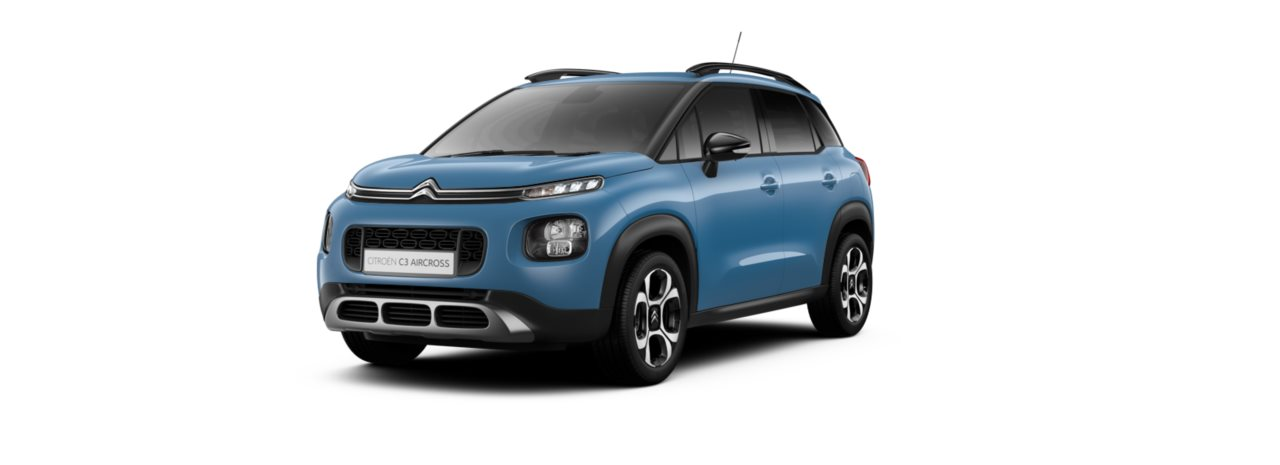 Citroen C3 Aircross Breathing Blue Metallic
