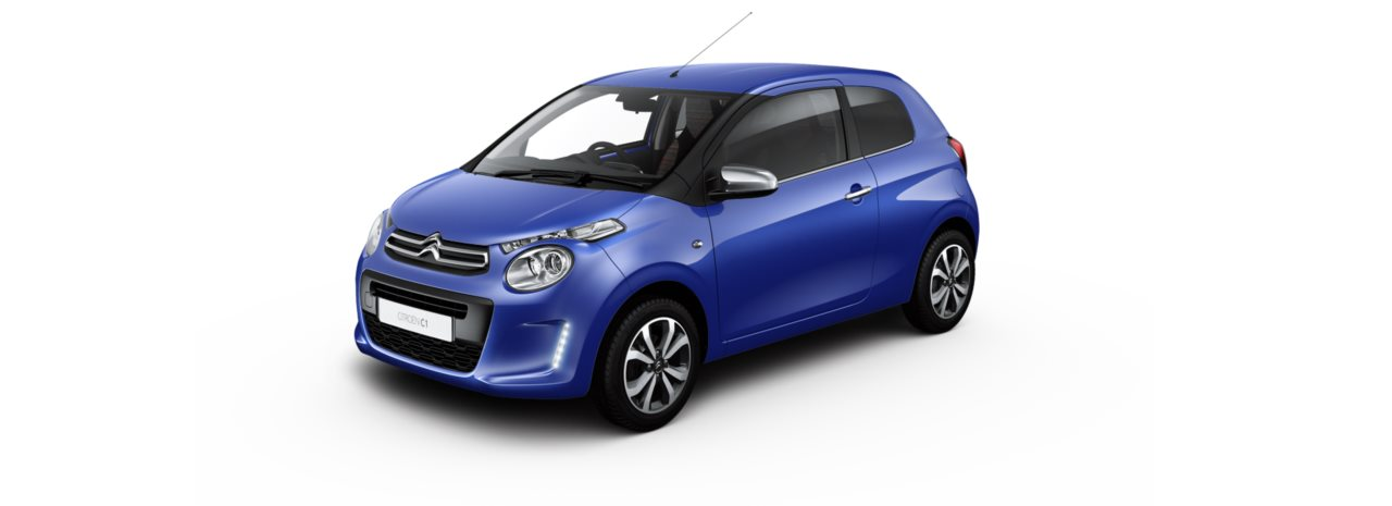 Citroen C1 Calvi Blue Metallic