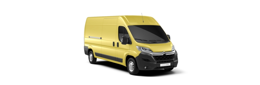Citroen Relay Carioca Yellow