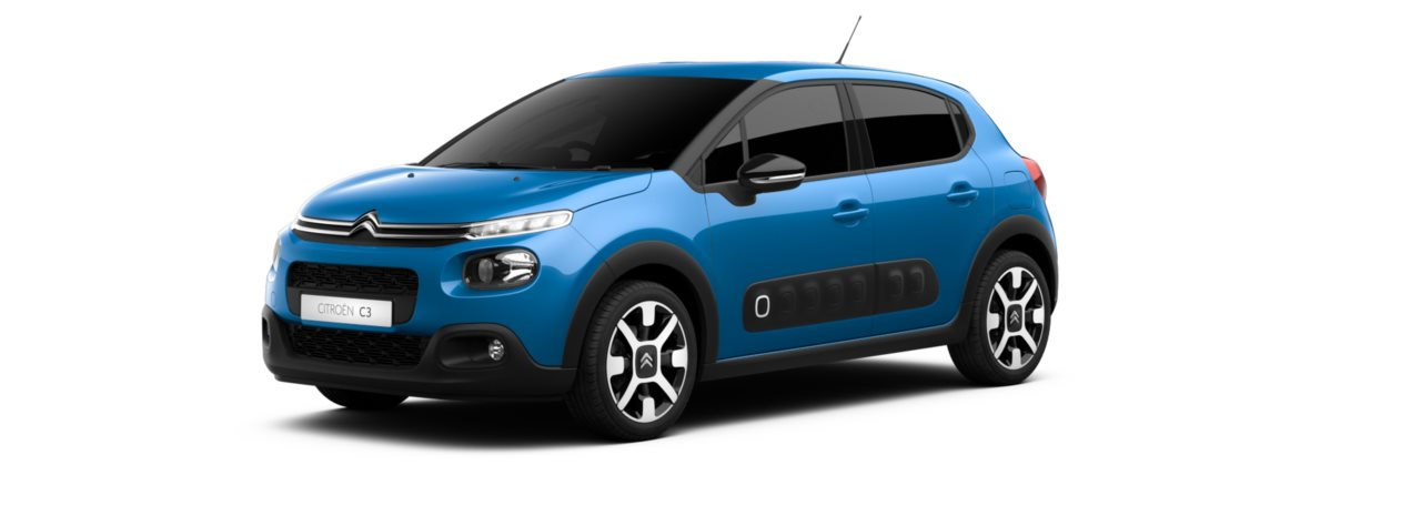 Citroen New C3 Cobalt Blue Metallic