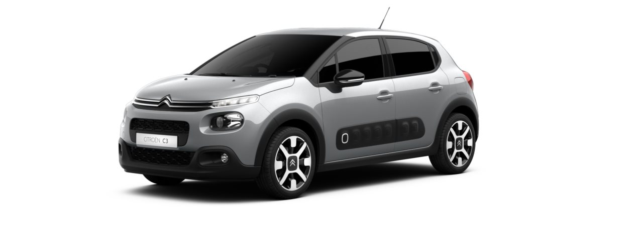 Citroen New C3 Cumulus Grey Metallic
