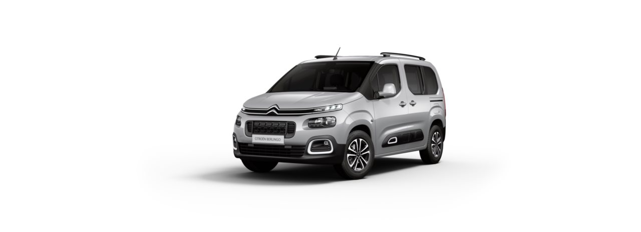 Citroen New Berlingo Cumulus Grey Metallic
