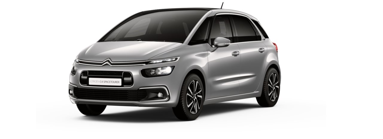 Citroen New C4 Space Tourer Cumulus Grey Metallic