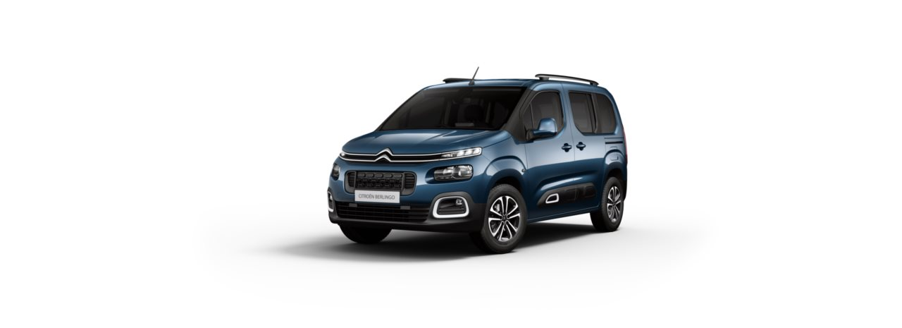 Citroen New Berlingo Deep Blue Metallic