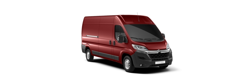 Citroen Relay Deep Red Pearlescent