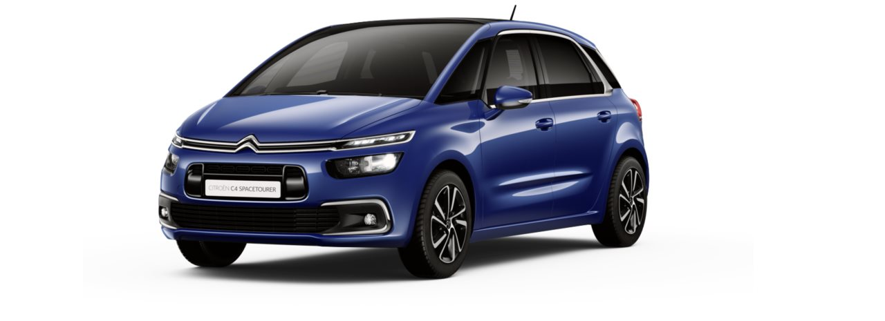Citroen New C4 Space Tourer Lazuli Blue Metallic