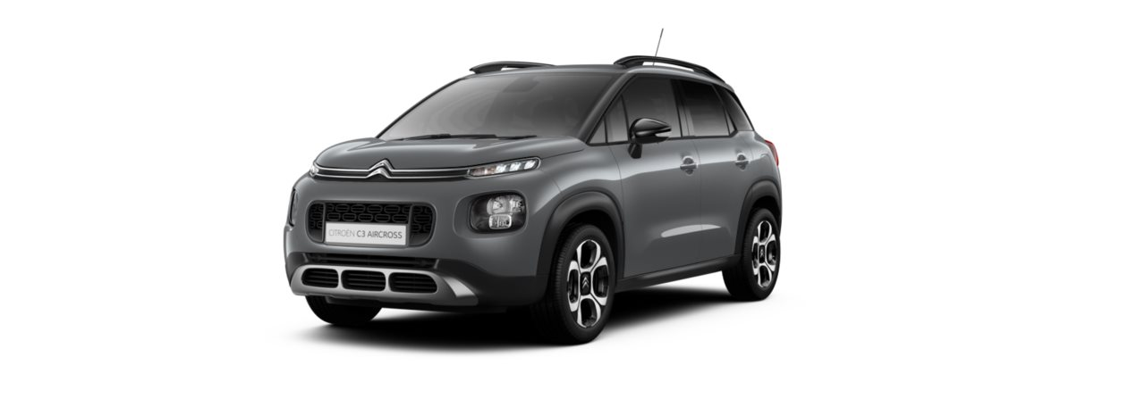 Citroen C3 Aircross Misty Grey Metallic