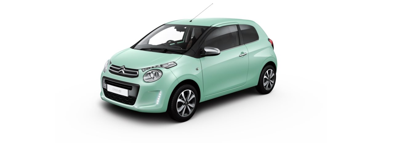 Citroen C1 Pacific Green
