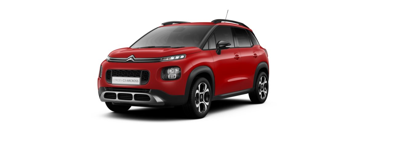 Citroen C3 Aircross Passion Red