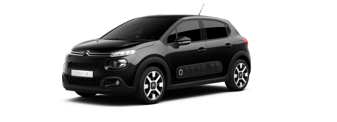 Citroen New C3 Perla Nera Black Metallic