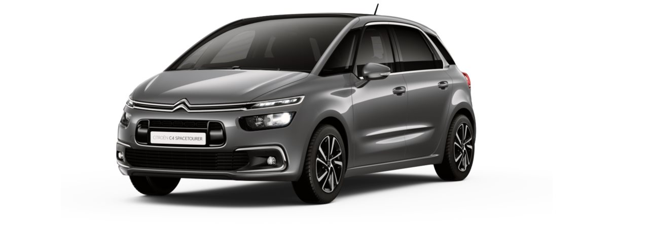Citroen New C4 Space Tourer Platinum Grey Metallic