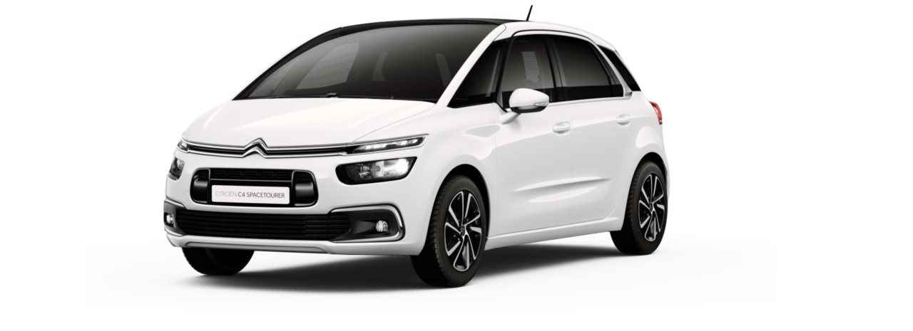 Citroen New C4 Space Tourer Polar White