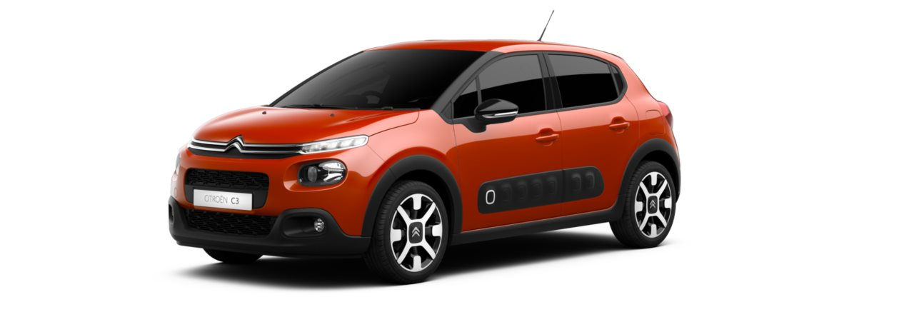 Citroen New C3 Power Orange Metallic