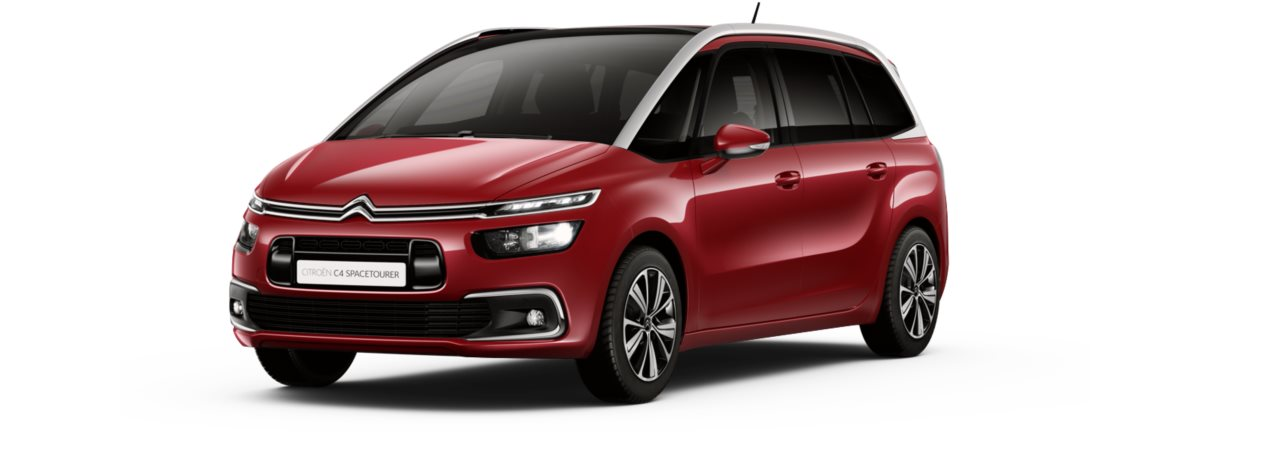 Citroen New C4 Grand Spacetourer Ruby Red Metallic