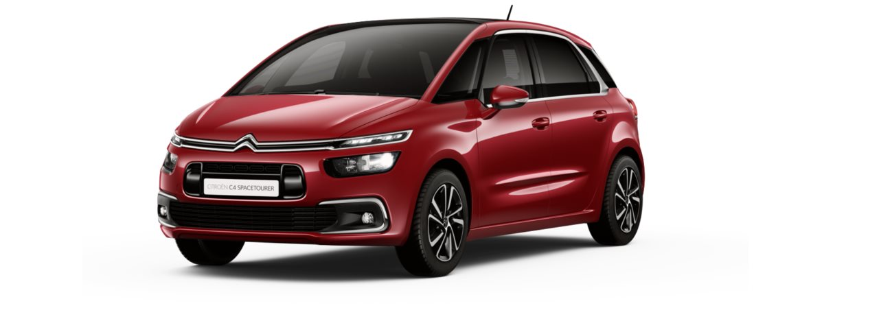 Citroen New C4 Space Tourer Ruby Red Metallic