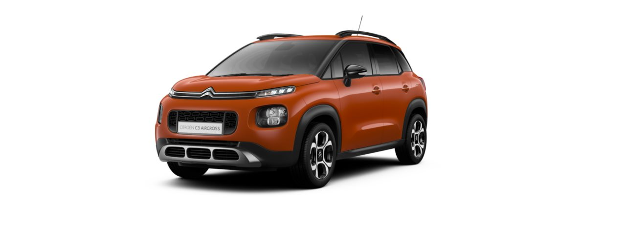 Citroen C3 Aircross Spicy Orange Metallic
