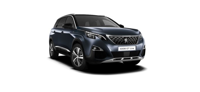 Peugeot NEW 5008 SUV GT Line Egyptian Blue