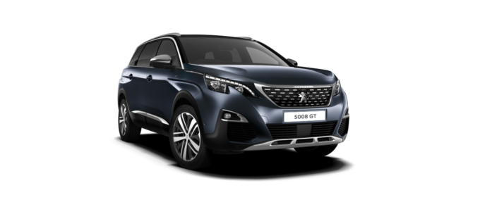 Peugeot New 5008 SUV GT Egyptian Blue