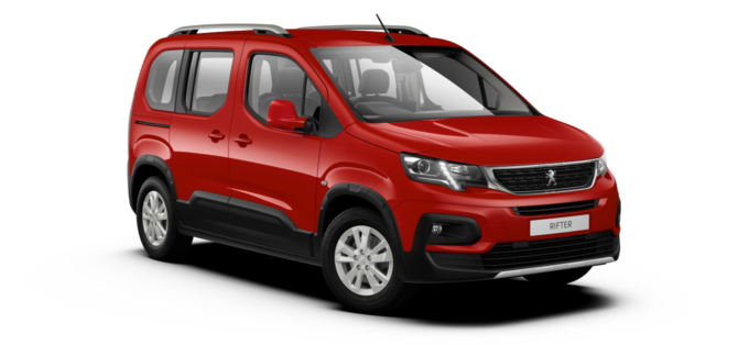Peugeot All-New Rifter Ardent Red
