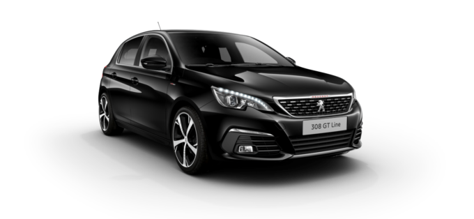 Peugeot 308 5-Door Nera Black