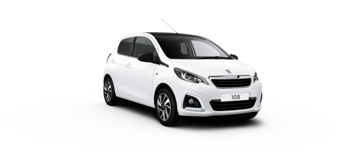 Peugeot 108 Hatchback Diamond White