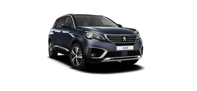 Peugeot New 5008 SUV Egyptian Blue