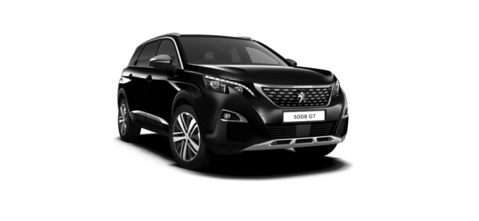 Peugeot New 5008 SUV GT Nera black